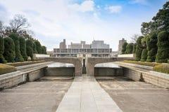 Parque memorável da paz de Hiroshima, Japão imagem de stock
