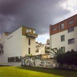 Parque memorável de Berlin Wall em Bernauer Straße, Mitte, Berlim, Alemanha Imagem de Stock Royalty Free