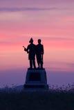 Parque militar nacional de Gettysburg foto de stock
