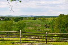 Parque militar nacional de Gettysburg - 038 Fotos de Stock Royalty Free