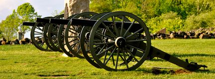 Parque militar nacional de Gettysburg - 019 Fotografia de Stock Royalty Free