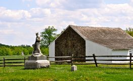 Parque militar nacional de Gettysburg - 174 Imagens de Stock