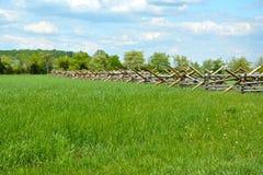 Parque militar nacional de Gettysburg - 210 Fotos de archivo
