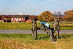 Parque militar nacional de Gettysburg fotografía de archivo