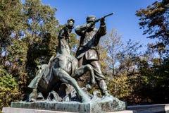 Parque militar nacional de Vicksburg Foto de archivo