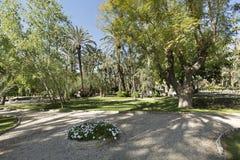 Parque municipal de Elche imagens de stock