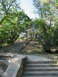 Parque na cidade de Krasnodar Imagens de Stock Royalty Free