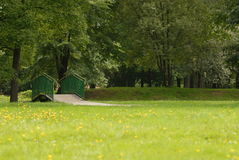 Parque na mola Imagens de Stock Royalty Free