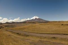 Parque Nacional科托帕克西 图库摄影