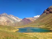 Parque Nacional阿空加瓜在Mendoza,阿根廷 免版税库存照片