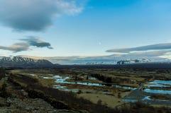 parque nacional 4 do þingvellir Foto de Stock