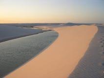 parque nacional 5 maranhenses lencois dos Стоковая Фотография