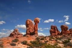 Parque nacional 89 de los arcos Imagen de archivo