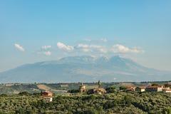 Parque nacional Abruzos Italia de Maiella imagen de archivo libre de regalías