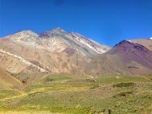 Parque Nacional Aconcagua w Mendoza, Argentyna zdjęcia stock
