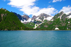 Parque nacional Alaska de los fiordos de Kenai Foto de archivo