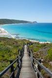 Parque nacional Albany Australia de Torndirrup de la playa Foto de archivo