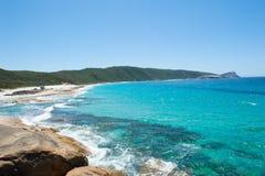 Parque nacional Albany Australia de Torndirrup de la playa Fotografía de archivo libre de regalías
