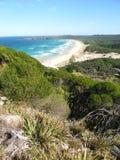 Parque nacional Australia de Booti Booti Foto de archivo