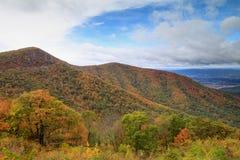 Parque nacional Autumn Virginia de Shenandoah imagen de archivo libre de regalías
