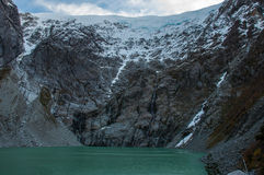 Parque Nacional av Queulat, Austral Carretera, huvudväg 7, Chile Arkivfoton