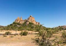 Parque nacional Bulawao Zimbabwe de Matobo Fotografia de Stock Royalty Free