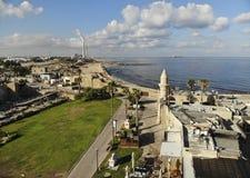 Parque nacional Caesarea Fotografia de Stock Royalty Free