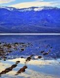 Parque nacional California de Badwater Death Valley Fotos de archivo libres de regalías