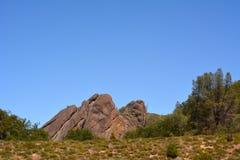 Parque nacional California de los pináculos foto de archivo libre de regalías