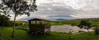 Parque Nacional Cerro Azul Meambar PANACAM in Honduras. Royalty Free Stock Photo