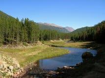 Parque nacional Colorado de la montaña rocosa imagenes de archivo