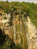 Parque nacional Croatia dos lagos Plitvice Fotos de Stock