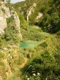 Parque nacional Croatia dos lagos Plitvice Fotos de Stock Royalty Free
