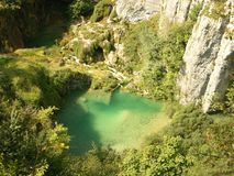 Parque nacional Croatia dos lagos Plitvice Imagens de Stock
