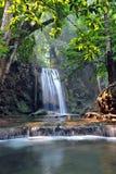 Parque nacional da cachoeira de Erawan Imagens de Stock Royalty Free