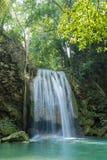 Parque nacional da cachoeira de Erawan Fotografia de Stock