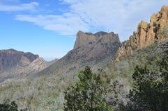 Parque nacional da curvatura grande, Texas fotografia de stock