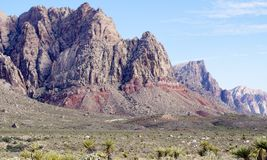 Parque nacional da garganta vermelha da rocha do parque nacional da garganta da rocha Imagens de Stock Royalty Free