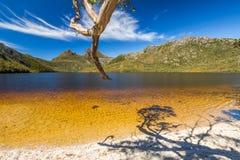 Parque nacional da montanha do berço fotografia de stock royalty free