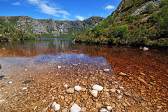 Parque nacional da montanha do berço, Tasmânia Imagem de Stock