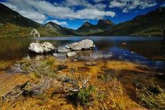 Parque nacional da montanha do berço Foto de Stock