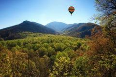 Parque nacional da montanha fumarento Imagem de Stock