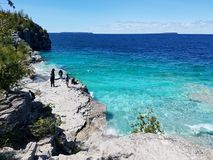 Parque nacional da península de Bruce foto de stock