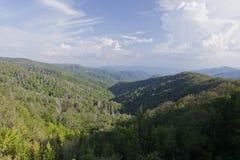 Parque nacional das grandes montanhas fumarentos Imagens de Stock