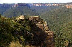 Parque nacional das montanhas azuis, NSW, Austrália Imagens de Stock Royalty Free