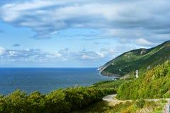 Parque nacional das montanhas bretãs do cabo Fotos de Stock Royalty Free