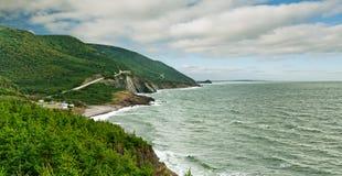 Parque nacional das montanhas bretãs do cabo imagem de stock