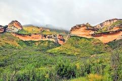 Parque nacional das montanhas da porta dourada Imagens de Stock