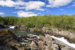 Parque nacional de Abisko Imagens de Stock