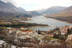 Parque nacional de Abruzzo, Italy Imagem de Stock Royalty Free